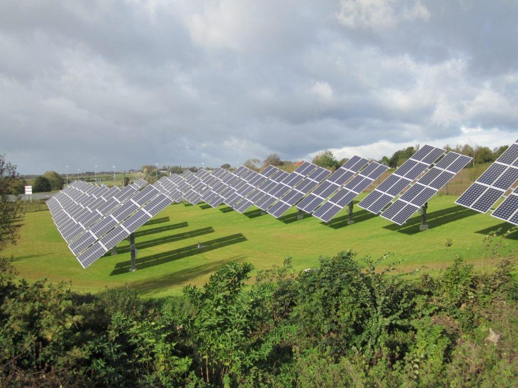 Linak Solar Park Danish Solar Energy Ltd Dansk Solenergi
