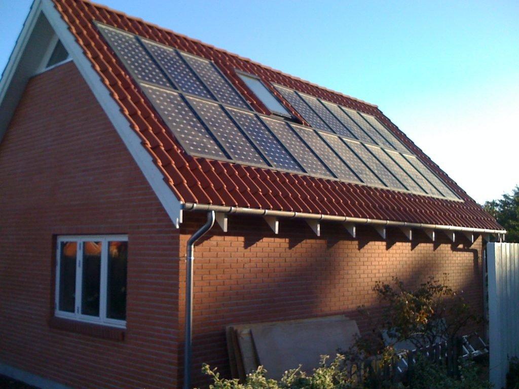 Embedded Solar Tile Roof Danish Solar Energy Ltd