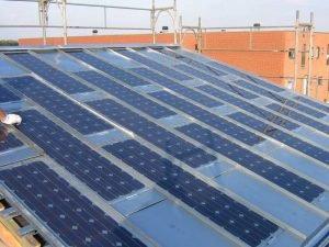 Solceller Integreret I Zink Aluminium Kobber Eller St 229 L