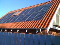 Bygningsintegreret Solceller Moduler I Tegltag Danish