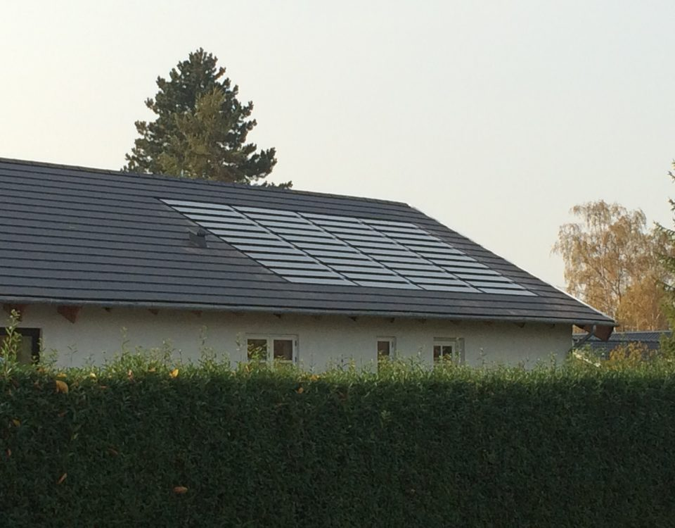 Skifer Tag Danish Solar Energy Ltd Dansk Solenergi