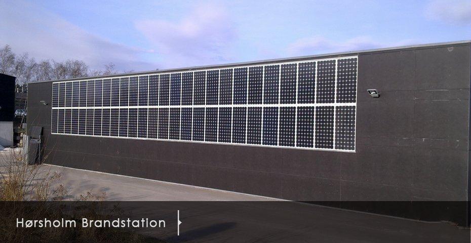 Bygning Integrering Danish Solar Energy Ltd Dansk